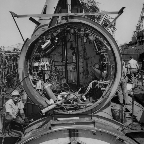 Charleston Naval Shipyard Photographs