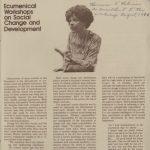Bernice Robinson Papers, 1920-1989