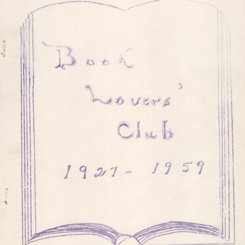 Book Lovers' Club, 1927 - 1969
