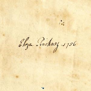 Eliza Lucas Pinckney Receipt Book, 1756