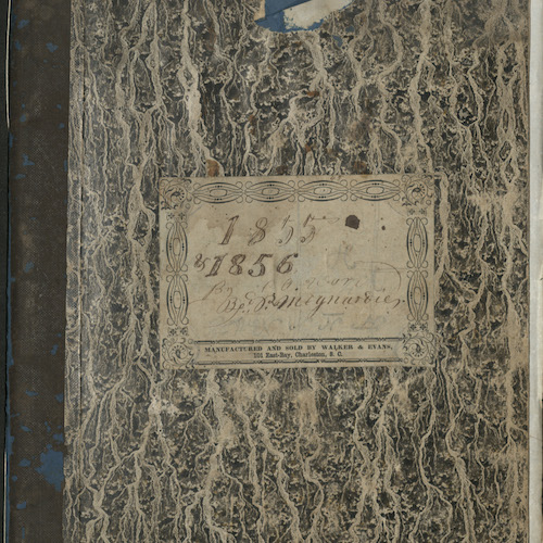 Mulberry Plantation Journals, 1853-1908 (bulk 1853-1889)