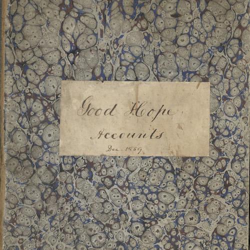 Good Hope Plantation Journal, 1835-1874 (bulk 1835-1857)